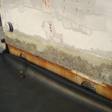 後・路上機器(サンプル)の錆補修